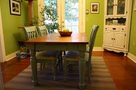 Paint A Kitchen Table Blue Painted Kitchen Table And Chairs Best Kitchen Ideas 2017