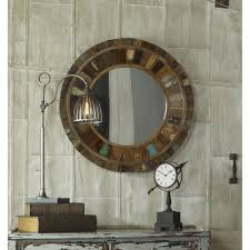 wood wall mirrors. Reclaimed Wood Framed Mirror Wall Mirrors T