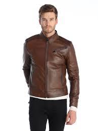 Si6018654 Chestnut Leather Jacket