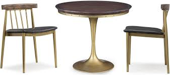 alfie pine round dining table g5454 tov furniture
