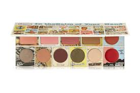 travel makeup palette voyage thebalm of your hand face palette best travel makeup palettes 2016