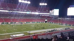 Raymond James Stadium Seating Chart Club Level Raymond James Stadium Section 207 Tampa Bay Buccaneers