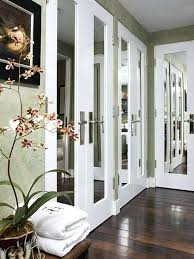 french closet doors great mirrored french closet doors