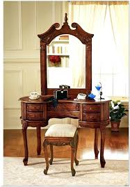 antique vanity table with mirror small antique dressing table mirrors for design ideas in flat