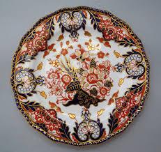 antique royal crown derby imari kings plate 1913 3g027a