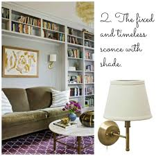 home library lighting. family room lighting with a wall sconce home library