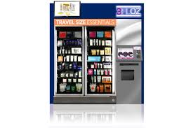 Vending Machines For Sale Los Angeles Delectable Touchup Before Takeoff Beauty Vending Machines Are In Your Airport