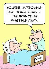 but health insurance wasting By rmay | Politics Cartoon | TOONPOOL