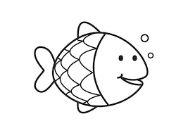 Small Picture Simple Fish Coloring Pages Coloring Pages