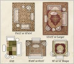 area rug living room sizes