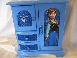 disney frozen bedroom in a box. disney\u0027s frozen anna and elsa upcycled jewelry \u0026 trinket box disney bedroom in a