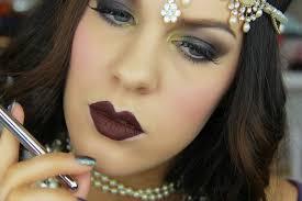 1920s gatsby flapper inspired makeup