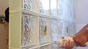 Glass Block Window In Shower how to install a glass block shower wall enclosure in a bathroom 6705 by xevi.us