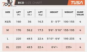 Sherwood Bcd Size Chart Www Bedowntowndaytona Com