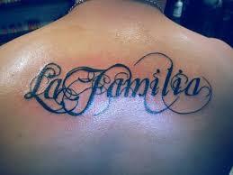 Písmo Záda Tetování Tattoo
