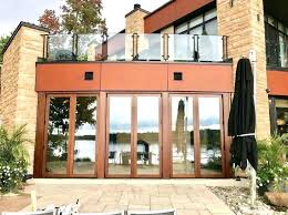 automatic bi fold driveway gates wooden folding gate wood baby luxury best panoramic doors images on