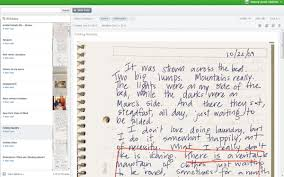a master writer s notebook in evernote two writing teachers