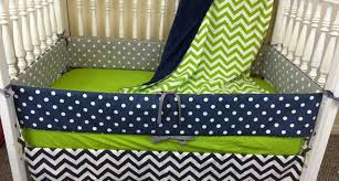 stunning lime green and navy bedding