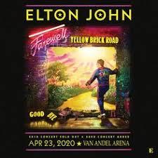 Elton John Million Dollar Piano Seating Chart Elton John Concert Outfit Ideas