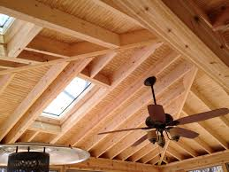 rafters living lighting. Open Rafter Ceiling Rafters Living Lighting A