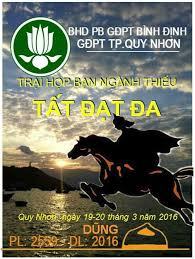 Mẫu phù hiệu trại Dũng TP Quy Nhơn do... - Ban Hướng dẫn Phân ban GĐPT TỈNH  BÌNH ĐỊNH | Facebook