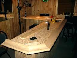 rustic bar top rustic ideas