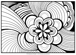 Coloring Pages Beautiful Abstract Color Pages The Free Coloring