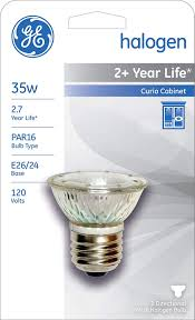 Sl 03e2700 Light Bulb Ge Lighting 20641 35 Watt Halogen Curio Lamp Mr16 Halogen