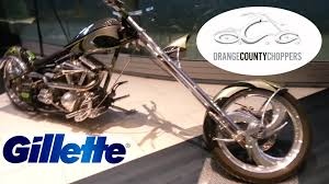 gillette custom occ chopper world shaving headquarters boston