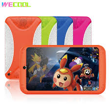 WeCool <b>7 inch Kids Tablet</b> Quad Core Android Child Tablet PC 8GB ...