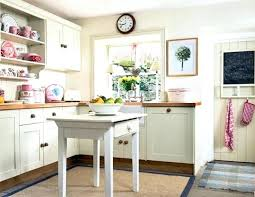 white country cottage kitchen. Simple White Vintage Country Cottage Kitchen U Shaped White Maple Wood   On White Country Cottage Kitchen S