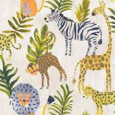 Jungle Multi Color Grandeco