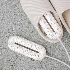 YouPin Mini Sothing Máy Sấy Giày Thông Minh Máy Di Động Ozone Khử Mùi Đa  Chức Năng Có Thể Thu Vào Thời Gian Làm Nóng Nhanh|Kệ & tủ giày