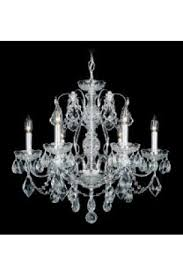 century 6 light 110v chandelier in rich auerelia gold with clear heritage crystal
