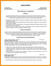 Emt Resume Examples Resume Template Easy Http Www