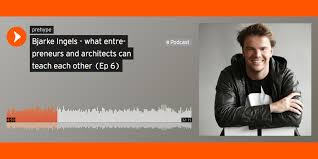 henrik werdelin partner at venture development firm prehype has released a podcast episode in which he speaks to danish architect bjarke ingels about
