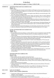 Office Coordinator Resume Sample Business Services Coordinator Resume Samples Velvet Jobs 29