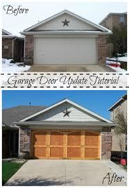 garage door refacingPimp Your Garage Door With These DIY Makeover Ideas