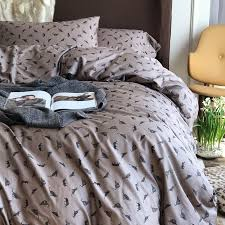 hipster gray and silver leopard print jungle animal themed shabby chic full queen size bedding sets