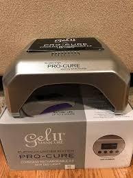 Gel 2 Led Light Cordless Amazon Com Gel Ii Pro Cure 2 0 Cordless Rechargable Lamp