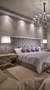 grey master bedroom designs. Luxury Bedroom Design. Chandelier. White Table Lamp. Silver Bed. Modern Master Decor Ideas. For More Inspirational Ideas Take A Look At: Grey Designs