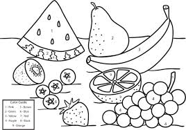 Kids love to color by numbers and we've got a bunch for you to choose from. Fruit Coloring By Number Games The Sun Games Site Flash Games Coloring Home