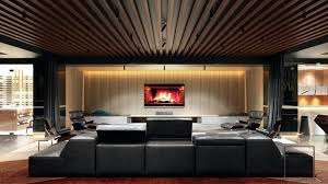 cinema room furniture. Home Cinema Designs Furniture Renderings For A Dazzling Room Theater .