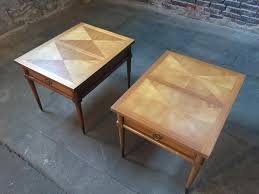 mid century end tables hollywood