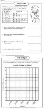 Blank Tally Chart And Bar Graph Worksheet 13 Best Tally Chart Images Tally Chart Math Worksheets Math