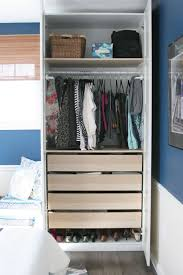 3 wardrobes are better than small closets