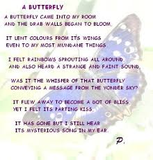butterfly poems