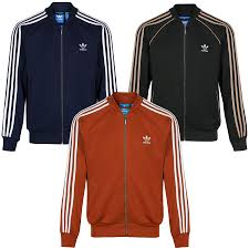 Design Your Own Adidas Original Jacket Details About Adidas Originals Superstar Track Top Mens Jacket Red Green Navy Retro 70s 80s