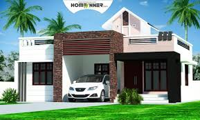 Small Picture Rectangular Kerala home plans design low cost 976 sq ft 2BHK