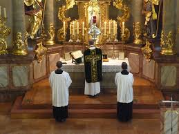 Image result for photos of traditional latin masses during lent